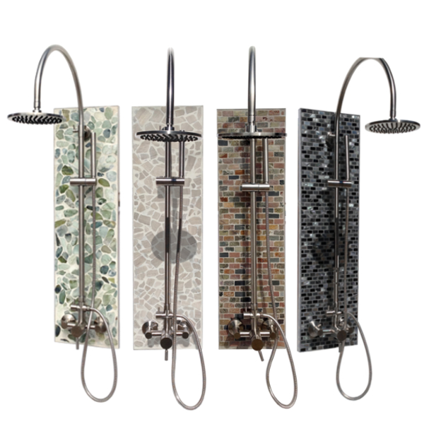 shop outdoor showers series and accessories