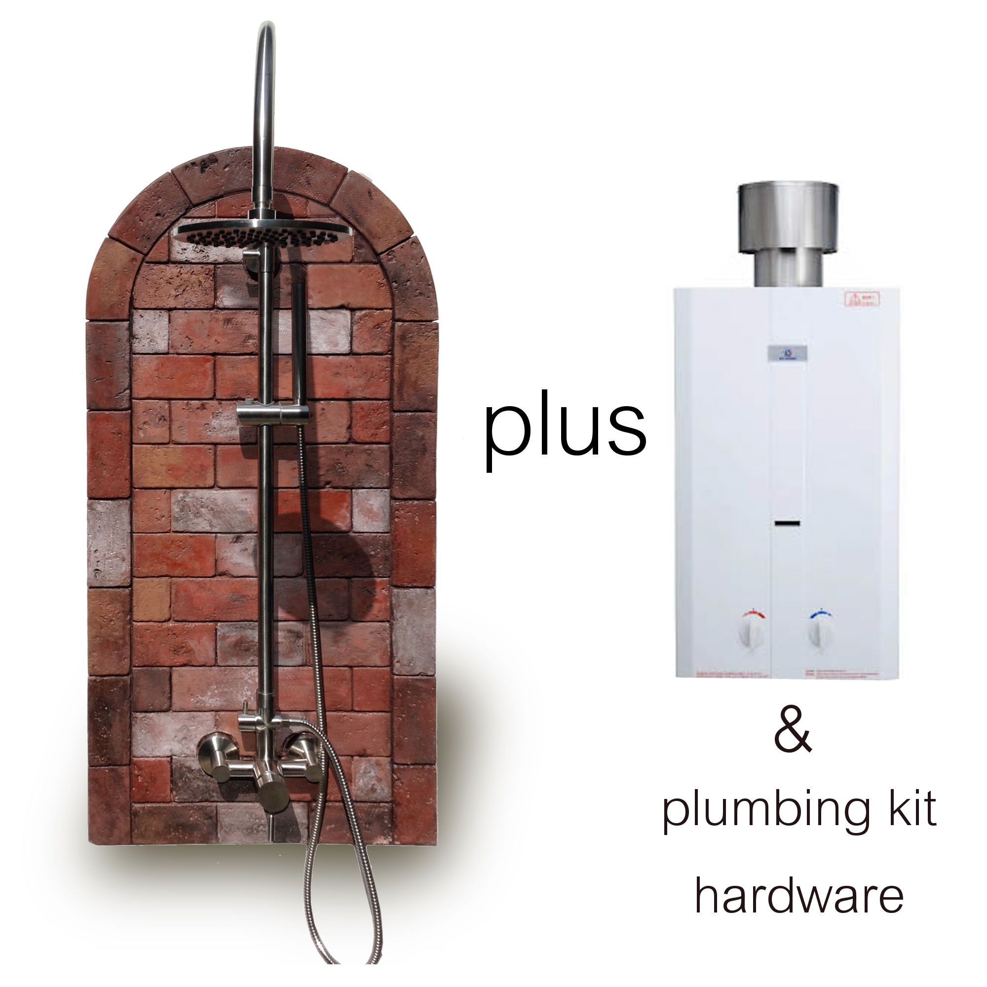 Water Heater Plus Brick